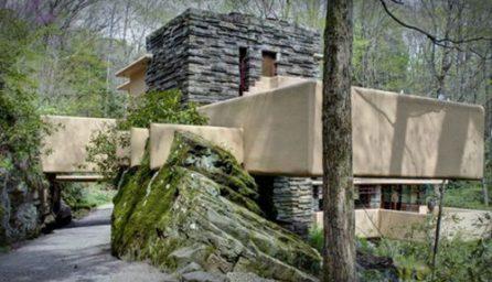 Casa Fallingwater, cea mai moderna locuinta din lume