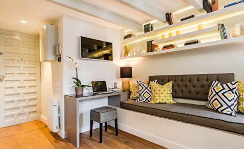 Idei de amenajare pentru un apartamente cu un dormitor