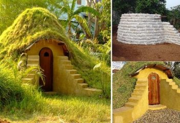 Constructiile viitorului: case din saci de pamant si lut