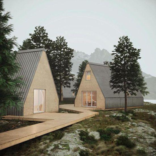 Cum arata casa ce poate fi construita numai in sase ore