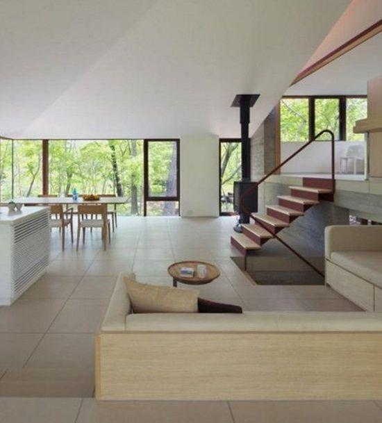 Casele viitorului: Villa K din padure