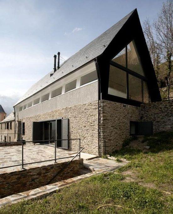 Case din viitor: o casa montana din Spania