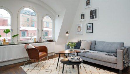 Cum amenajam un apartament mic simplu si elegant