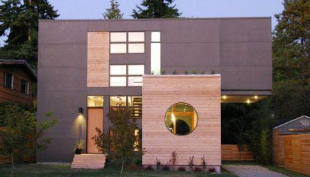 Proiect casa cubica cu design inedit