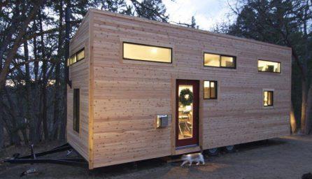 Casa pe roti complet utilata si cu dormitor de oaspeti