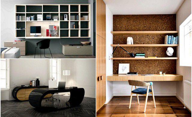 Modele superbe de birouri pentru munca de acasa