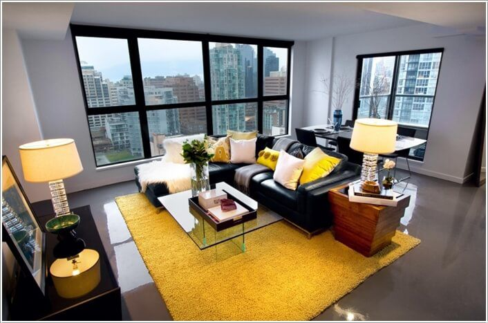 Decor modern in galben pentru casa ta