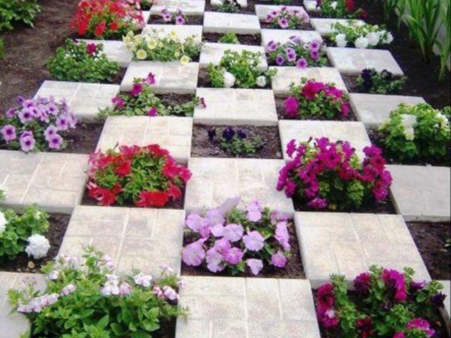 Idei creative pentru decorarea gradinii