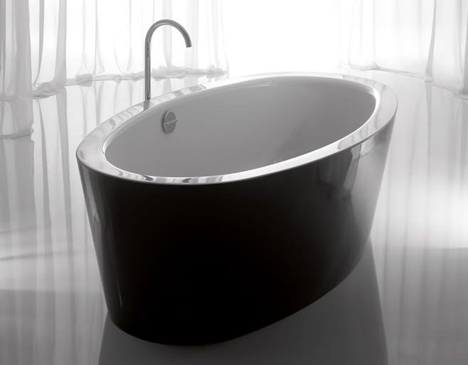 Bai moderne si elegante in alb si negru