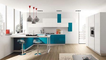 Bucatarii moderne si elegante in 2 culori