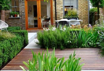 Gradini moderne si mici pentru casa ta